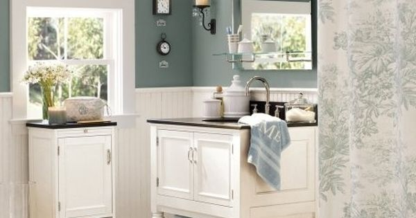 Benjamin Moore Color Alfresco By Potttery Barn A Deep Dusty Blue That Promises To Relax And