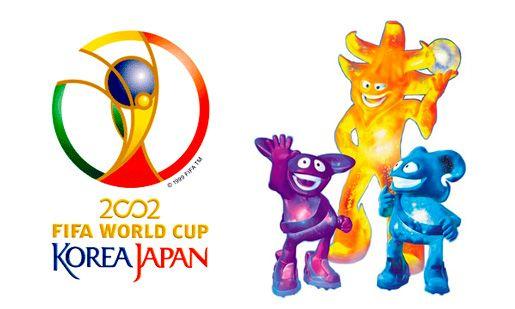 Ato Kaz And Nik The Spheriks Korea Japan 2002 World Cup Mascot Logo World Cup Logo Soccer World World Cup
