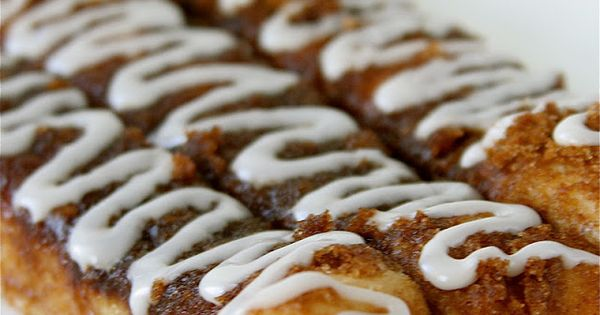 Christmas breakfast Cinnamon Roll Bread Sticks: fun holiday party food. Instead of