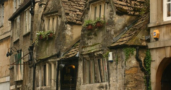 Stradford-Upon-Avon, England, birthplace of William Shakespeare or Diagon Alley?