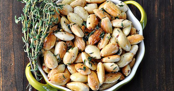 Pan Fried Almonds with Thyme by Cook Like a Champion, I would