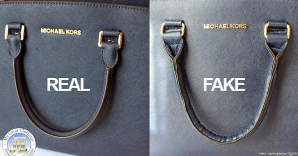 photos how to spot a fake michael kors bag purses