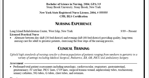 Health Care Resume Templates Resumes Amp Interviews