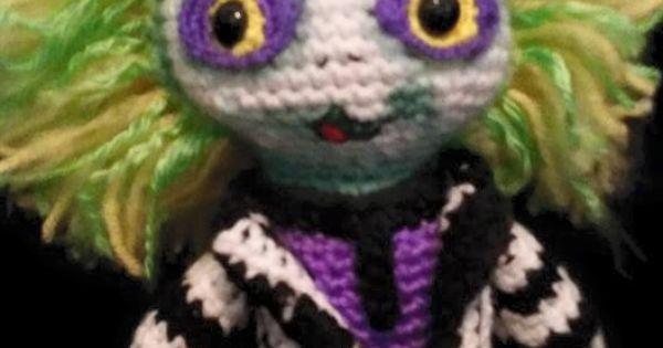 beetlejuice crochet! (no pattern)   Knitting / Crochet ...