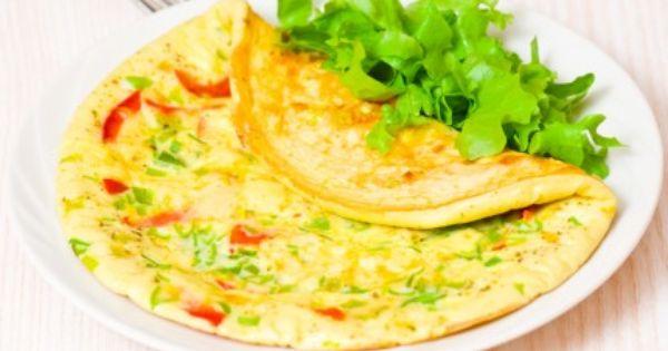 أومليت بالخضار Recipe Ckd Diet Recipes Egg Recipes For Dinner Kidney Recipes