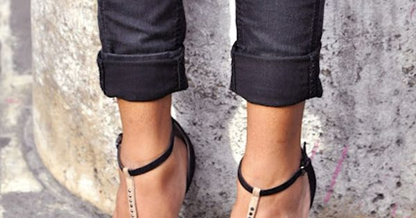 ankle strap heels.