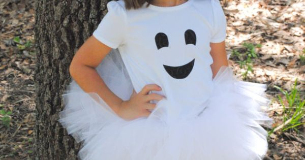 Ghost tutu costume idea for girls