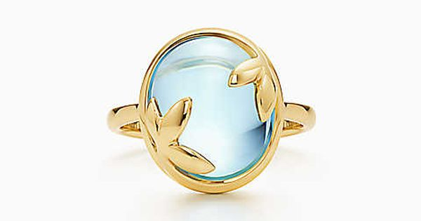 Tiffany & Co. - Paloma Picasso® Olive Leaf ring in 18k gold