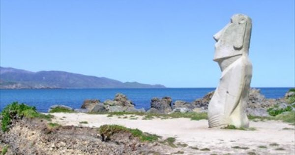 Moai statue wellington new zealand gifts from other countries moai statue wellington new zealand gifts from other countries on waymarking sculpture pinterest easter island negle Image collections