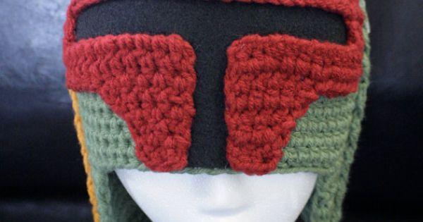 Boba Fett hat for Star Wars fans.