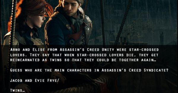 Assassins Creed Confessions Arno Elise Jacob Evie Frye Assassins