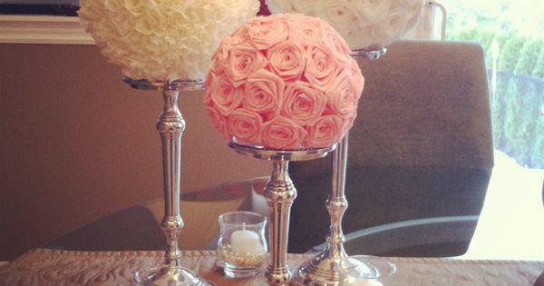 :::wedding centerpiece idea:::