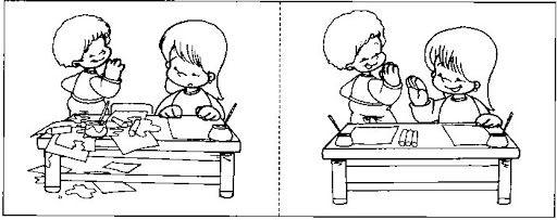 Respetar Las Normas Dibujos Para Colorear Sobre Normas Normas