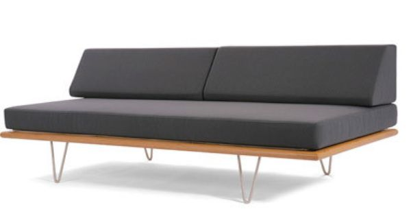 Modernica Case Study V Leg Day Bed Armless Sofa Made In Usa In
