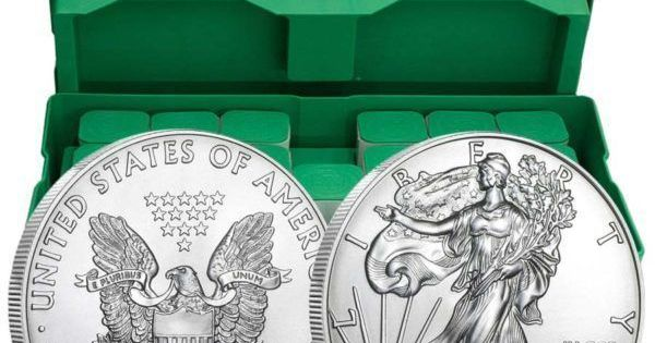 Monster Box Of 500 X 1 Oz Silver American Eagle Coin Malaysia Bullion Trade Monster Box Of 500 X 1 Oz Silver Am In 2020 Silver Coins For Sale Monster Box Eagle Coin