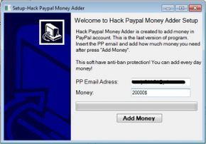 paypal money adder software free download 2018