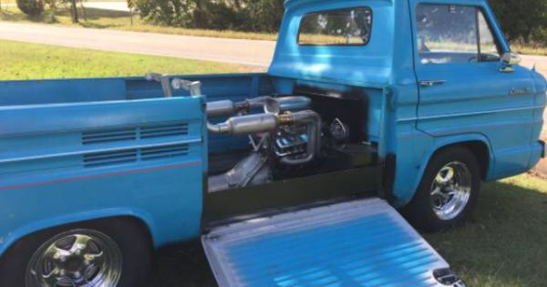 Corvair Pickup With V8 Chevy Corvair Pinterest