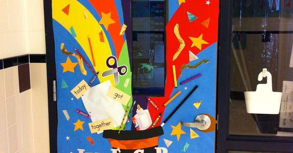 Magic Theme Classroom Door Decoration For Teacher