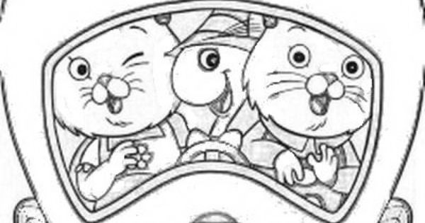 busytown huckle coloring pages - photo#11