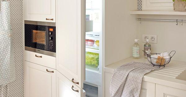 Una cocina peque a y perfecta - Cocinas y banos pequenos ...