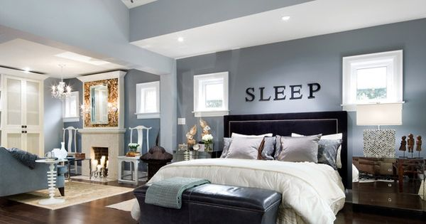 SLEEP! Bedroom designed by HGTV's Candice Olson www.hgtv.com/...