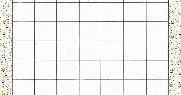 Milowcostblog esther gili y planificadores mensuales for Planificador habitaciones