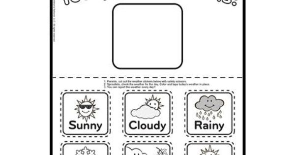 Printable Weather Charts For
