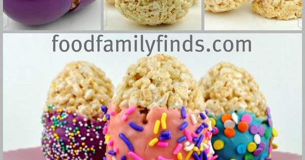 Easter Recipe: Dipped and Decorated Rice Krispies Treat Eggs!
