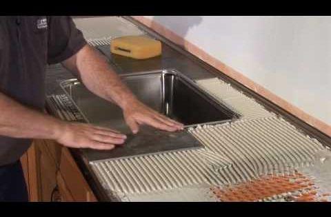 Schluter?Countertop System Installation Segment 3: Tiled Under-Sink ...