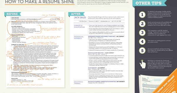 We Get Questions All The Time From Job Seekers On How To Spruce Up Their Resume Check Out Our Samp How To Make Resume Effective Resume Cover Letter For Resume