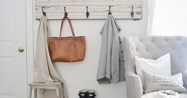 Carve Out Some Space For A Pretty Mudroom With A Rustic