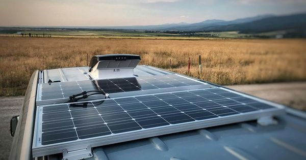 How To Install A Vent Fan In A Van Campervan Conversions Van Life Solar Panels