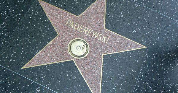 Gwiazda Paderewskiego W Hollywood Hollywood Walk Of Fame Wikipedia Wolna Encyklopedia