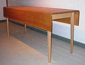Drop Leaf Harvest Table Handmade Furniture Shaker Furniture