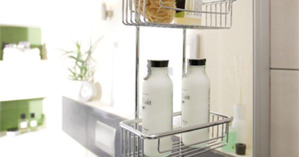 endlich ordnung zum flexibel einh ngen in der dusche mit. Black Bedroom Furniture Sets. Home Design Ideas