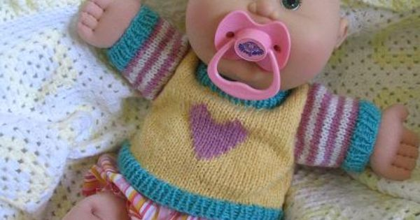 Jumpers Sweaters To Suit Cabbage Patch Babies And