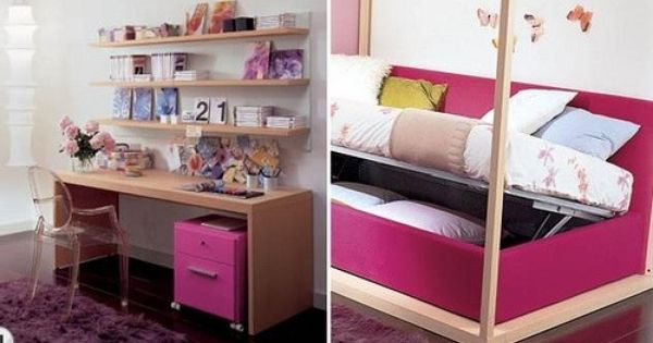 Pr cticos y sencillos muebles para dormitorios de ni os y - Muebles para cuartos de ninos ...