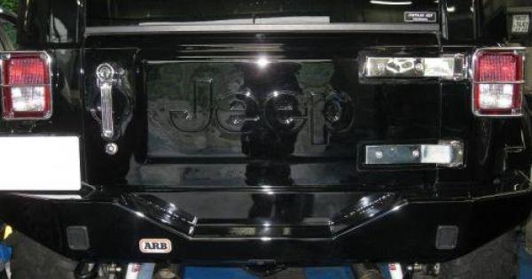Jeep Logo Spare Tire Delete Jeep Jk Jeep Spare Tire