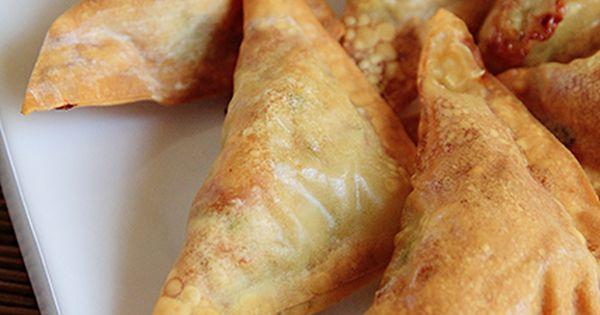 Air fried wanton looks yummy air fryer pinterest
