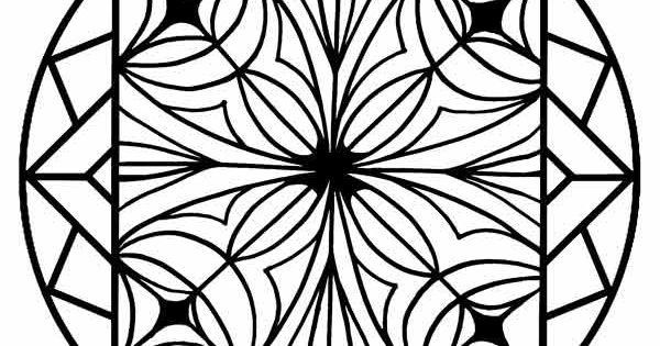 kaleidoscope activity coloring pages - photo#15