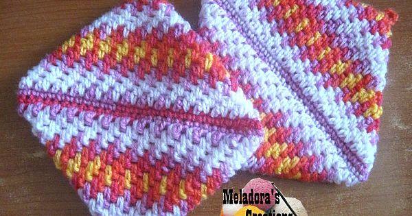 Crochet Stitch Keeper : Pot Holder - Thick Crochet Mesh / Brick Stitch - Free Crochet Pattern ...