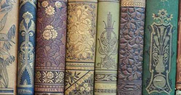 Vintage books with beautiful bindings bibliophile for Beautiful binding