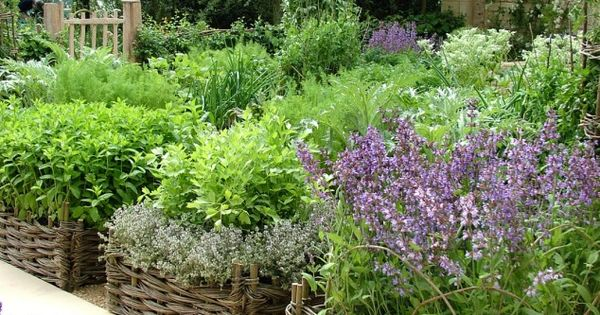 Lovely idea for raised beds: Container therapy at its best!! veggie garden