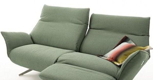 Das Relaxsofa Evita Bietet Top Preis Top Marke Elegantes Design Kopfteilverstellung Elektrische Sitzverstellung Ruck Esszimmer Sofa Sofa Koinor Sofa