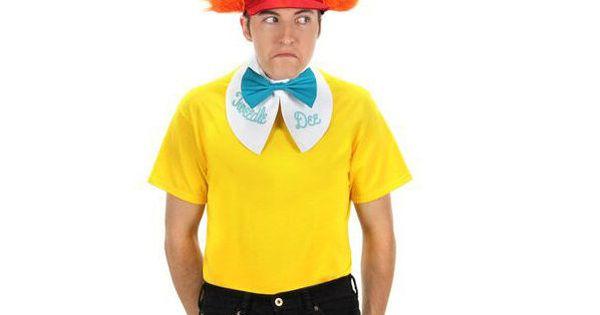 Reversable Tweedle Dee /& Tweedle Dum Costume Accessory Kit