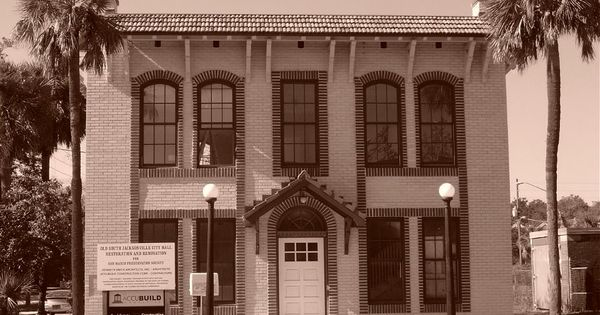 The South Jacksonville Fl City Hall On Hendricks Avenue Built In The Late 1890 39 S Has Been
