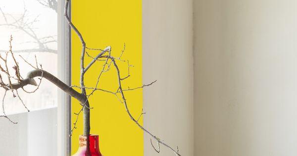 Geel reflecteert het zonlicht en zorgt zo voor een warm zomers gevoel kleur fiesta latina en - Kleur corridor ...