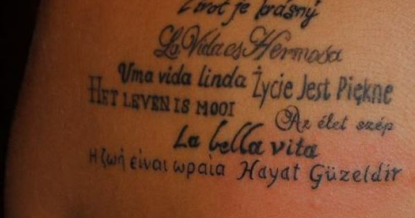 a girl traveled the world she got a tattoo in each country