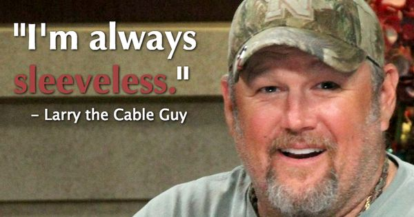 Larry The Cable Guy Keeps It Super Casual On #LarryKingNow