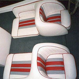Seattle Eastside Yacht Upholstery Reupholstery Boat Upholstery Boat Decor Pontoon Boat Furniture